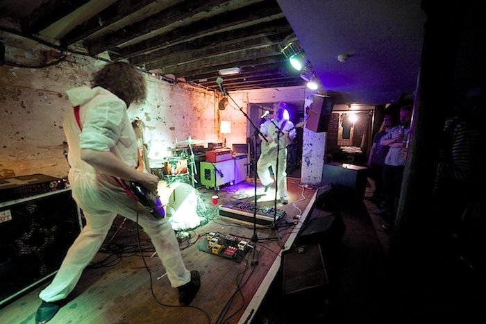 Alpha Male Tea Party live at  The Shipping Forecast