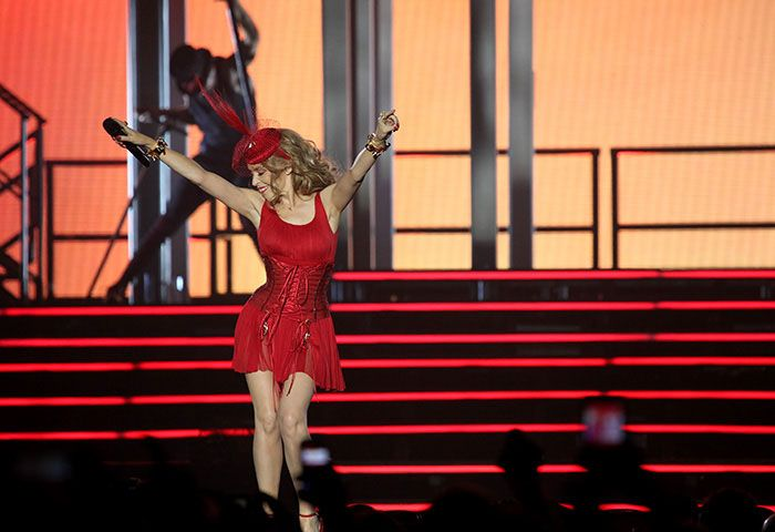 Kylie Minogue live at the Echo Arena