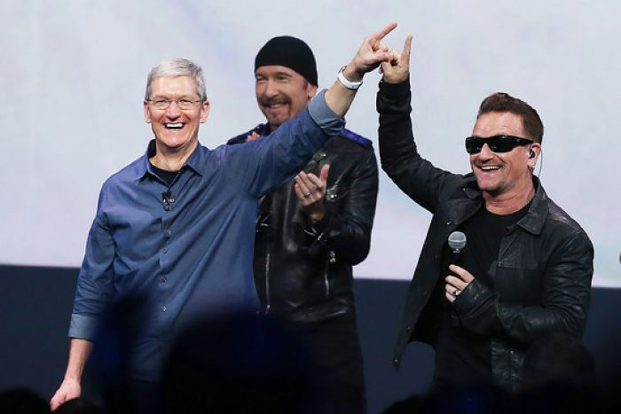 U2 and Apple Corp