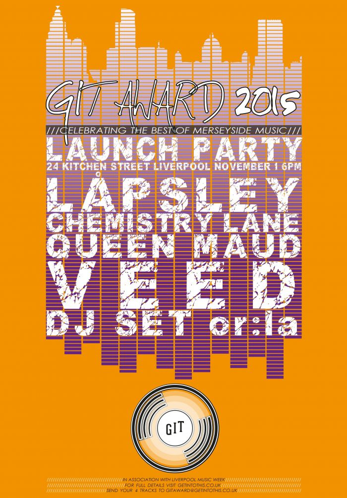 The GIT Award 2015 launch party on 1 November 2015