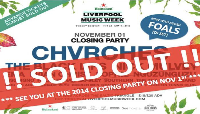 Liverpool Music Week Closing Party