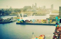 An artist's impression of how Liverpool Sound City 2015 will look when the festival moves to the Docks.