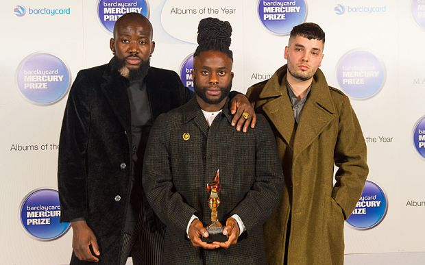Young Fathers - winners of the Mercury Prize 2015