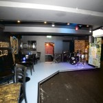 The refurbed basement looking smart