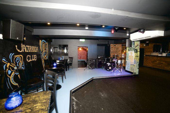 The refurbed basement looking smart