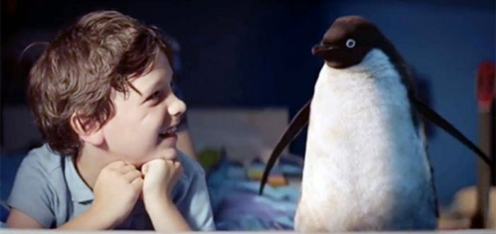 Christmas 2014's furry friend Monty the Penguin
