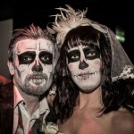 A gruesome Bride and Groom