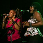 Owens' backing singers