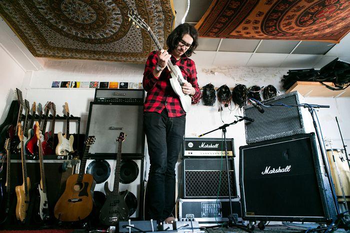 Jon Lawton at Crosstown Studio