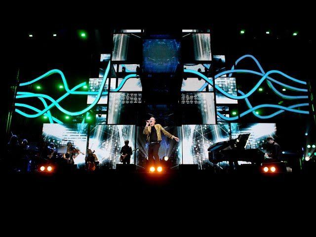 John Newman & Calvin Harris perform at the BBC Music Awards