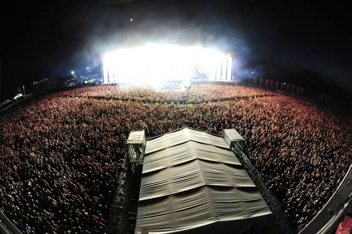 Sonisphere drew the crowd in 2014.