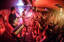 The Wombats play to a jam packed Magnet