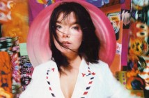 Bjork - pictured during an out-take from Post