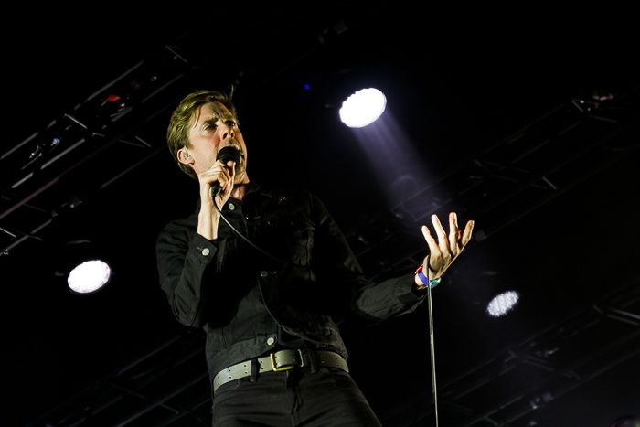 Kaiser Chiefs performing live at the Echo Arena