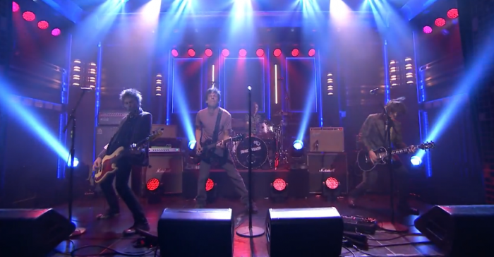 The Replacements on The Tonight Show with Jimmy Fallon in September 2014