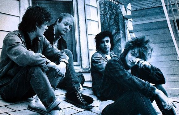 The Replacements posing for the cover of 1984's Let It Be