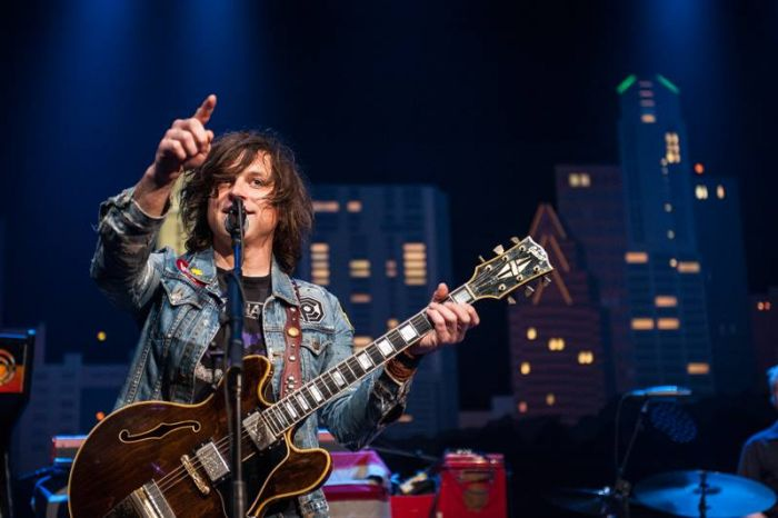 Ryan Adams - a hefty songbook to boot - credit Ryan Adams' Facebook