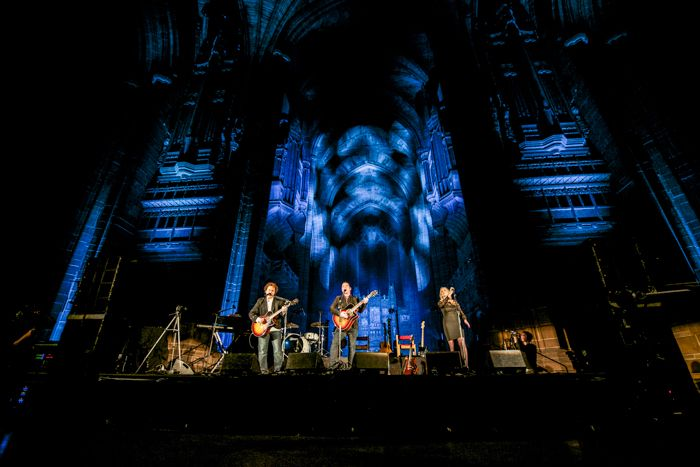 Anathema play live at the Anglican Cathedral earlier this year