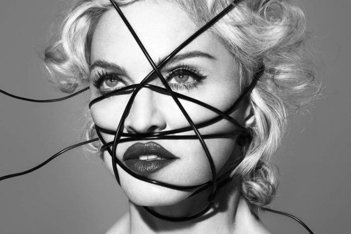 Madonna: no longer Radio 1 material