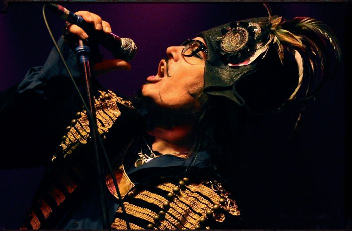 80s icon Adam Ant