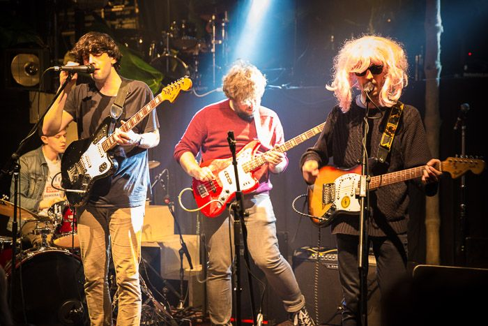 Hooton Tennis Club on stage at The Kazimier earlier this year