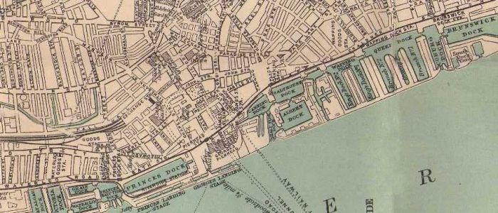 Liverpool Docks Map