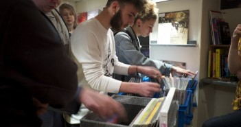 Liverpool music lovers at RSD 2015