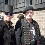 Adam Ant fans Karen and Barrie queuing to meet their hero - Record Store Day 2015