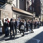Fans queue outside Dig Vinyl
