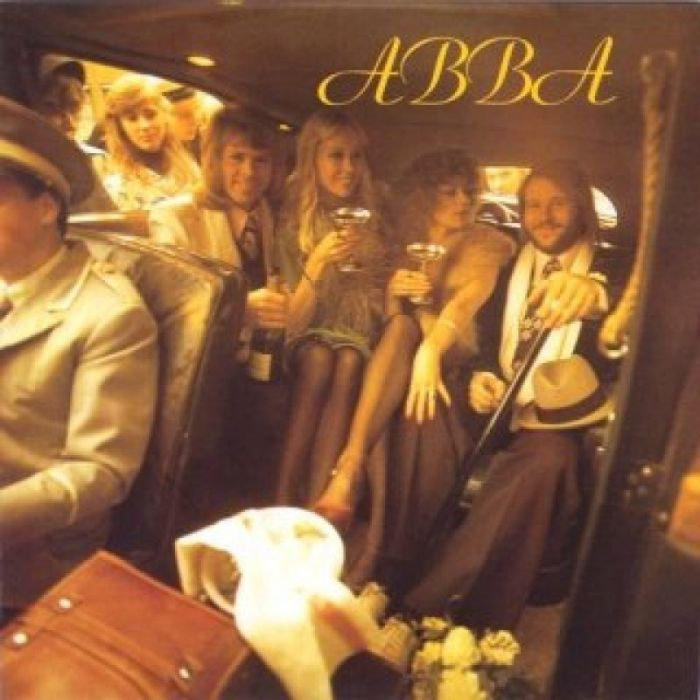 The cover for ABBA's 1975 self-titled record