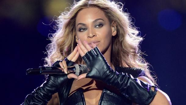 Beyonce not flashing an Illuminati logo