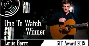 Louis Berry - The GIT Award 2015 One To Watch winner
