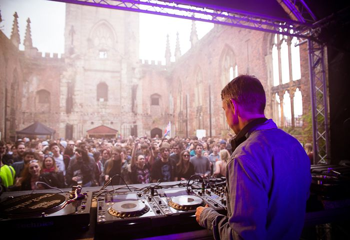 Gilles Peterson at St Luke's Church