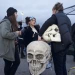 Skulls and bones...