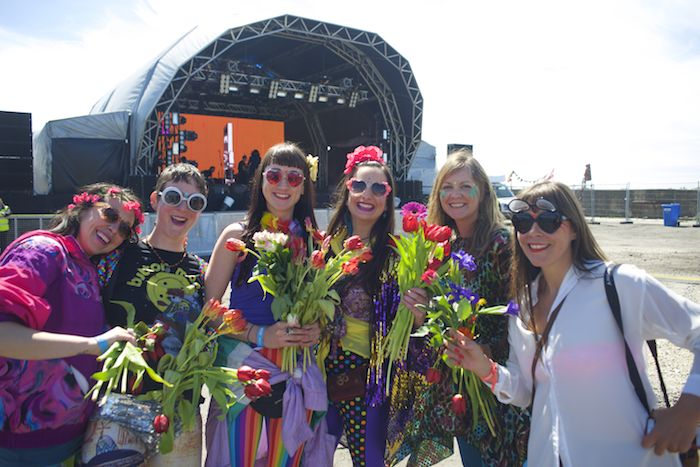 Sound City flower girls