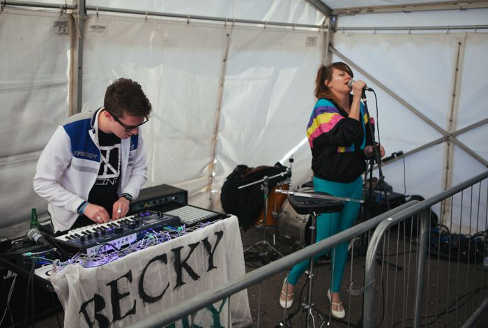 Becky Becky perform live at Sound City earlier this year