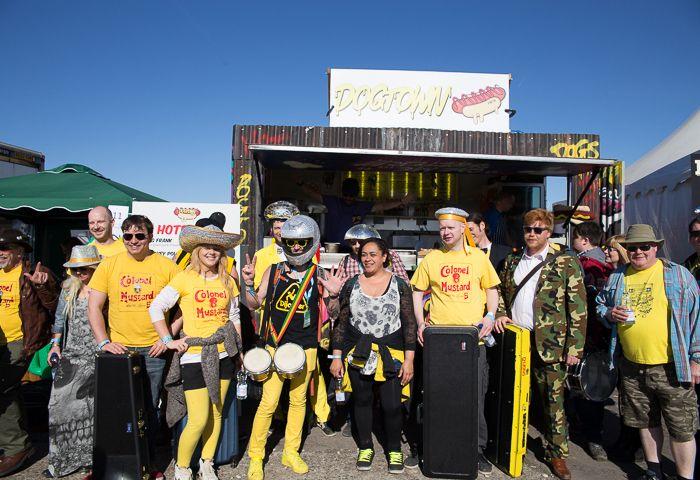 Colonel Mustard fans