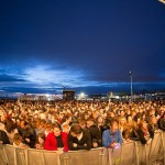 Liverpool Sound City crowd at the Atlantic Stage