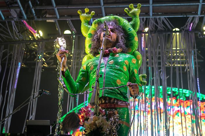 The Flaming Lips headlining Sound City 2015