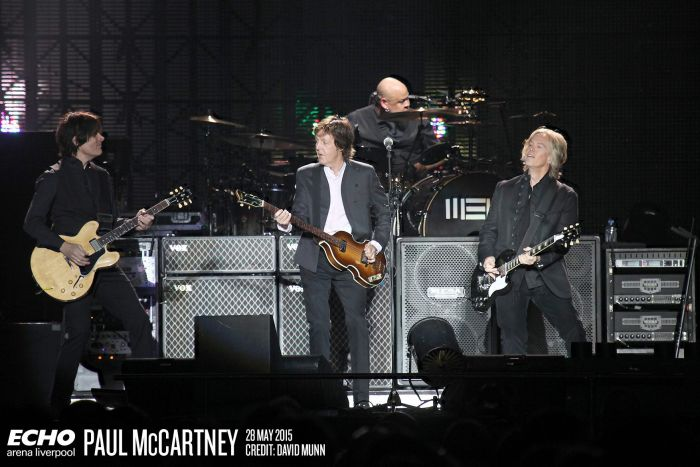 Paul McCartney at the Echo Arena - Photo Credit Dave Munn