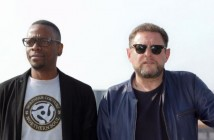 Kermit and Shaun Ryder of Black Grape