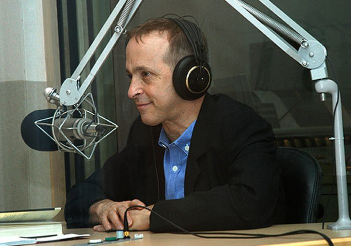 David Sedaris - photo by WBUR