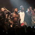 Young Fathers are joined by Kojey Radical at the Kazimier
