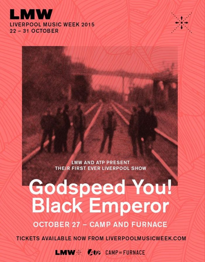 Liverpool Music Week 2015 featuring Godspeed You! Black Emperor