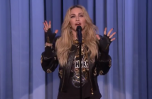 Madonna trying stand up on Jimmy Fallon. It was crap.