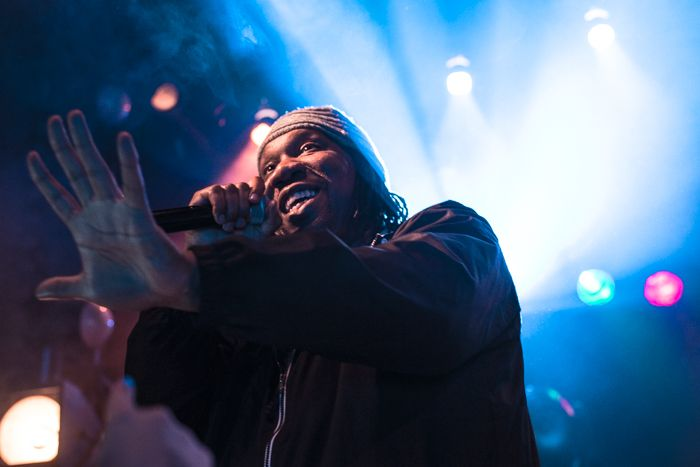 KRS ONE at a sold out Kazimier