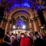 Craig Charles DJ's from a church organ at LIMF