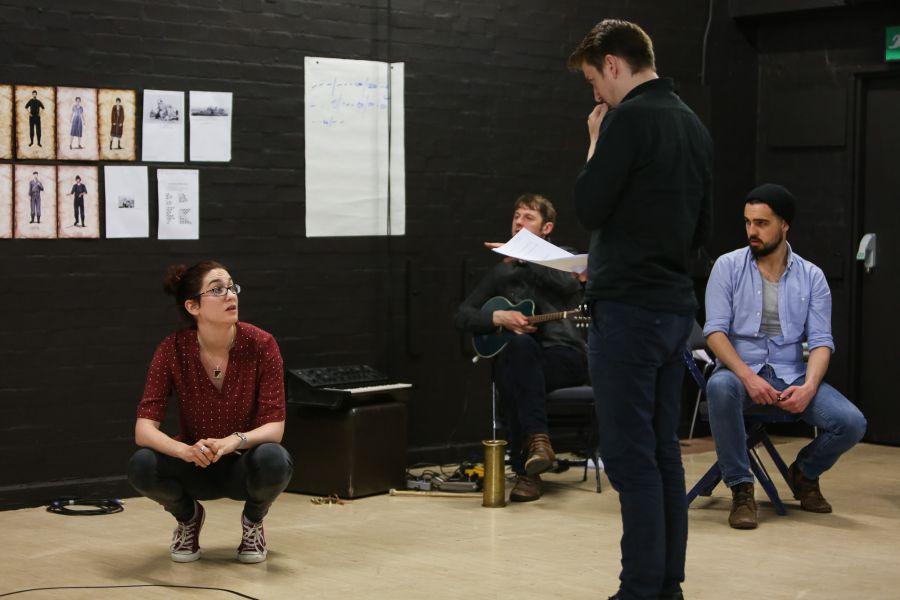 Narvik rehearsals (credit: Alex Mead)