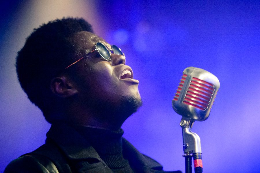Xam Volo in the Kazimier during FestEvol