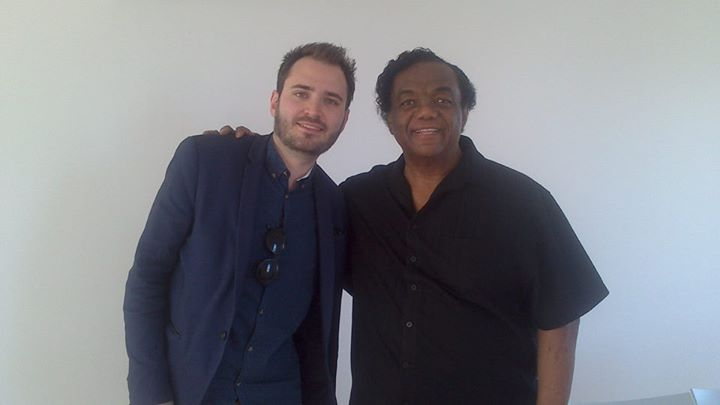 Motown legend Lamont Dozier with Getintothis' Shaun Ponsonby